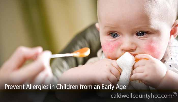 Prevent Allergies in Children from an Early Age